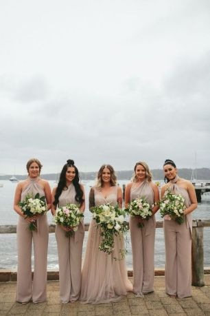 40 Jumpsuits Look for Bridemaids Ideas 1