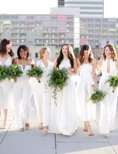 40 Jumpsuits Look for Bridemaids Ideas 10