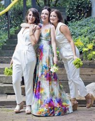 40 Jumpsuits Look for Bridemaids Ideas 12