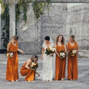 40 Jumpsuits Look for Bridemaids Ideas 14