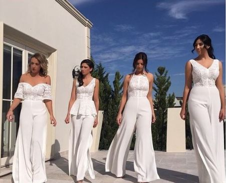 40 Jumpsuits Look for Bridemaids Ideas 17