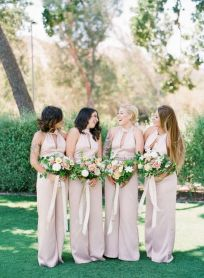 40 Jumpsuits Look for Bridemaids Ideas 3