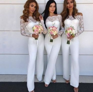40 Jumpsuits Look for Bridemaids Ideas 8