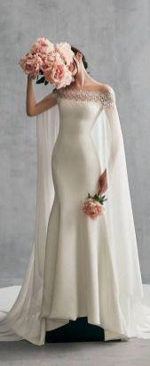 40 Off the Shoulder Wedding Dresses Ideas 15