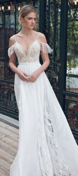 40 Off the Shoulder Wedding Dresses Ideas 27