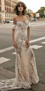 40 Off the Shoulder Wedding Dresses Ideas 34