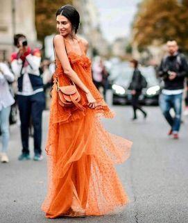 40 Stylish Orange Outfits Ideas 11
