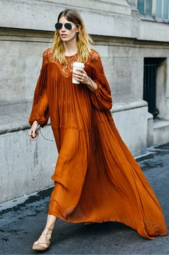 40 Stylish Orange Outfits Ideas 17
