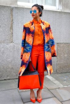 40 Stylish Orange Outfits Ideas 35
