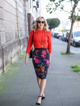 40 Stylish Orange Outfits Ideas 36