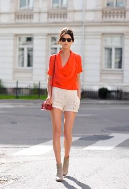 40 Stylish Orange Outfits Ideas 41