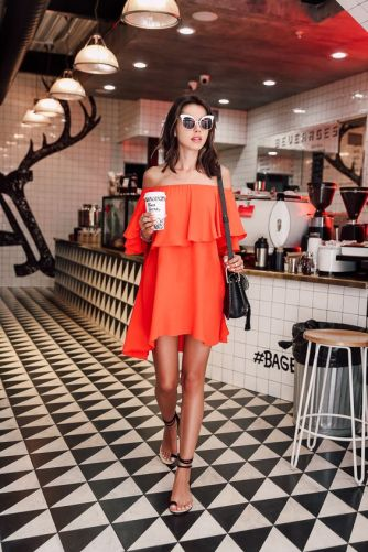 40 Stylish Orange Outfits Ideas 6