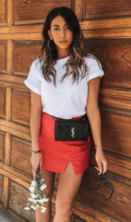 40 Ways to Wear Trendy Fanny Packs for Summer Ideas 23