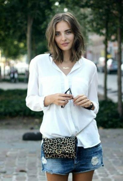 40 Ways to Wear Trendy Fanny Packs for Summer Ideas 28