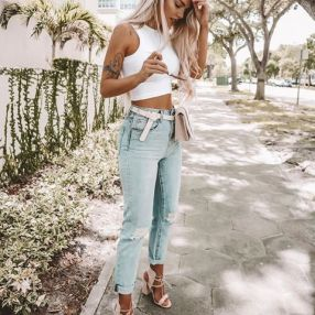 40 Ways to Wear Trendy Fanny Packs for Summer Ideas 43