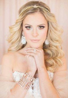 40 Wedding Hairstyles for Blonde Brides Ideas 14