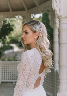40 Wedding Hairstyles for Blonde Brides Ideas 16
