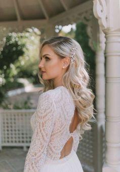 40 Wedding Hairstyles for Blonde Brides Ideas 16