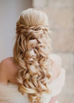 40 Wedding Hairstyles for Blonde Brides Ideas 17