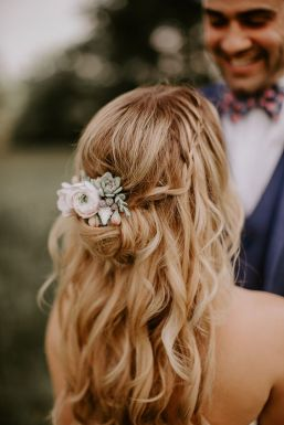 40 Wedding Hairstyles for Blonde Brides Ideas 18