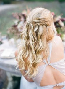 40 Wedding Hairstyles for Blonde Brides Ideas 2