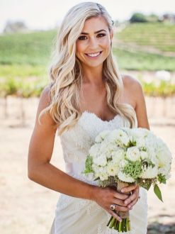 40 Wedding Hairstyles for Blonde Brides Ideas 28