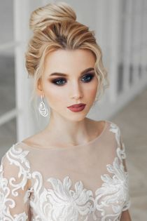 40 Wedding Hairstyles for Blonde Brides Ideas 41