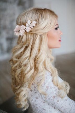 40 Wedding Hairstyles for Blonde Brides Ideas 7
