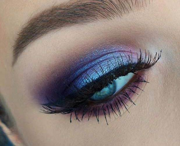 50 Blue Eyes Makeup You Need to Copy Ideas 49