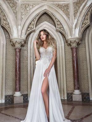 50 Bridal Dresses with Perfect Split Ideas 1 1