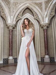 50 Bridal Dresses with Perfect Split Ideas 1