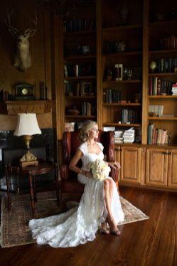 50 Bridal Dresses with Perfect Split Ideas 10 1