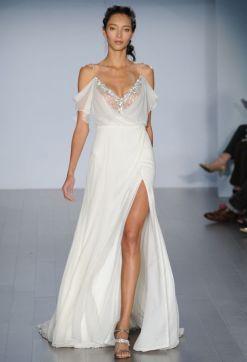 50 Bridal Dresses with Perfect Split Ideas 15 1