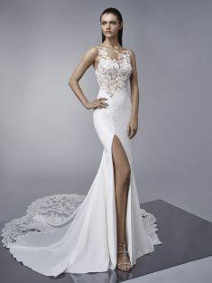 50 Bridal Dresses with Perfect Split Ideas 16