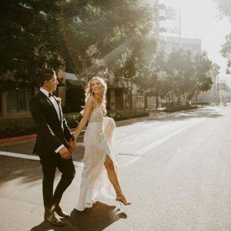 50 Bridal Dresses with Perfect Split Ideas 20 1