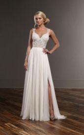 50 Bridal Dresses with Perfect Split Ideas 28