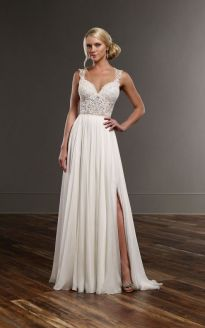 50 Bridal Dresses with Perfect Split Ideas 28