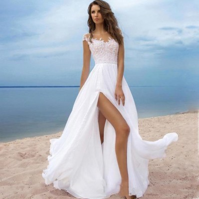 50 Bridal Dresses with Perfect Split Ideas 37 1