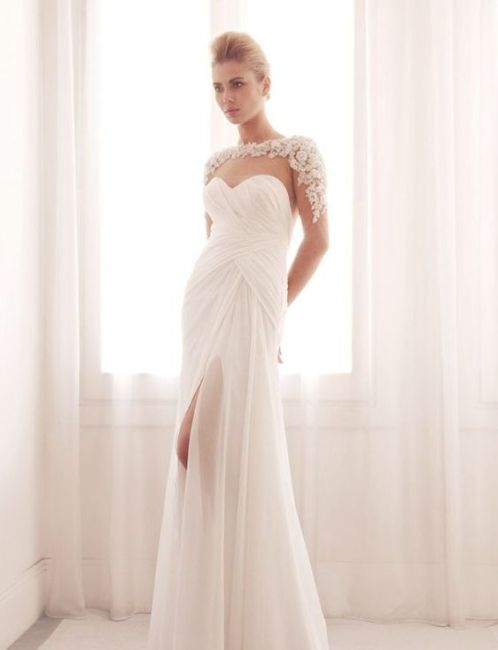 50 Bridal Dresses with Perfect Split Ideas 42 2