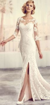 50 Bridal Dresses with Perfect Split Ideas 52