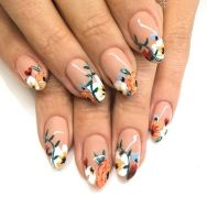 50 Floral Nail Art for Summer and Spring Ideas 52