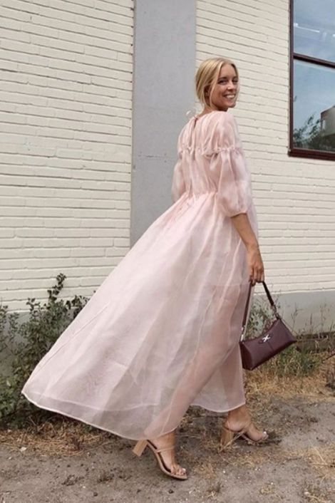 50 Organza Outfits You Should to Try Ideas 13