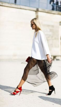 50 Organza Outfits You Should to Try Ideas 36