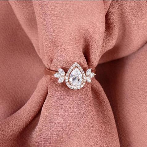 50 Simple Wedding Rings Design Ideas 10