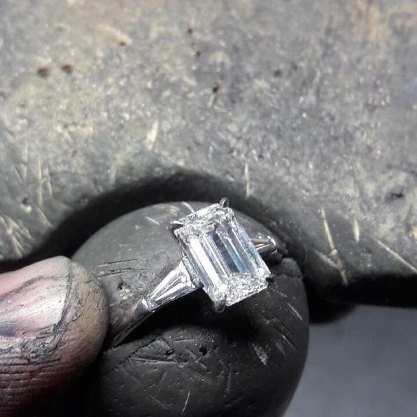 50 Simple Wedding Rings Design Ideas 12
