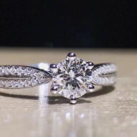 50 Simple Wedding Rings Design Ideas 17
