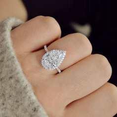 50 Simple Wedding Rings Design Ideas 26
