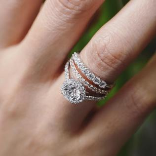 50 Simple Wedding Rings Design Ideas 3