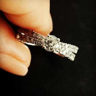 50 Simple Wedding Rings Design Ideas 40