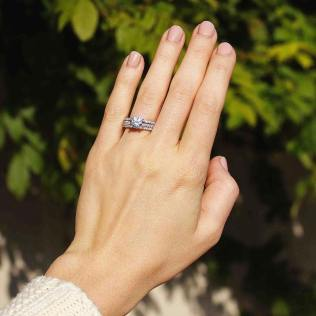 50 Simple Wedding Rings Design Ideas 5